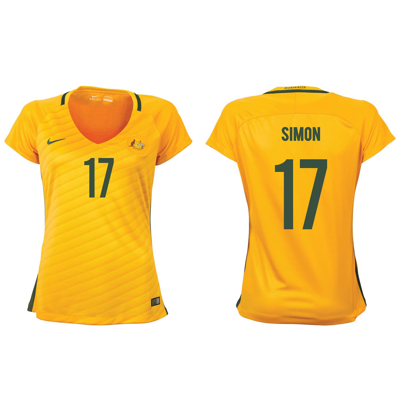 Kyah Simon Matildas Jersey