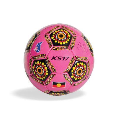 KS17 Indigenous Soccer Ball Pink