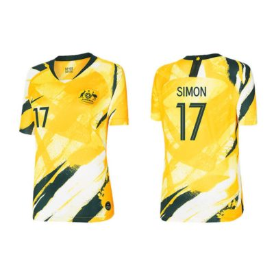 Kyah Simon Matildas 2019 Womens Replica Home Jersey